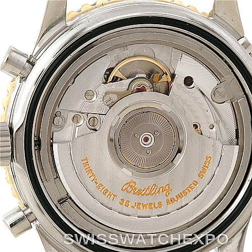 Breitling Navitimer Airborne Steel 18K Yellow Gold Watch D33030 SwissWatchExpo