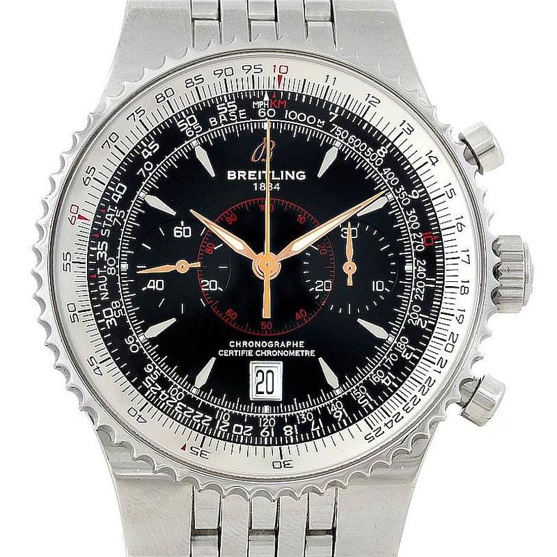 Breitling Montbrillant Legende Steel Mens Watch A23340 SwissWatchExpo