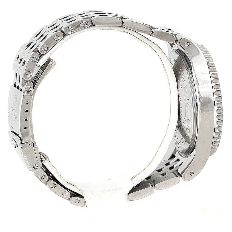 8339 Breitling Montbrillant Legende Steel Mens Watch A23340 SwissWatchExpo