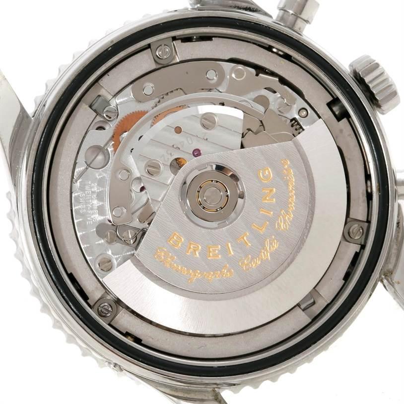 Breitling Navitimer Montbrillant Datora Steel Mens Watch A21330 SwissWatchExpo