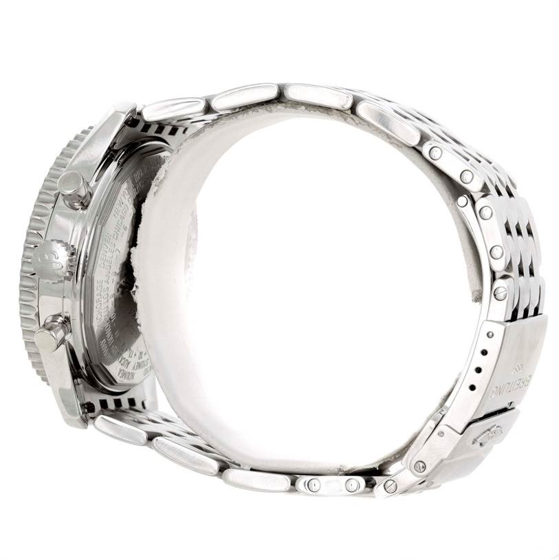 2991A Breitling Navitimer Montbrillant Datora Steel Mens Watch A21330 SwissWatchExpo