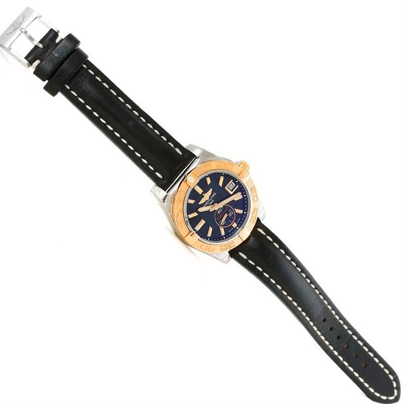 Breitling Galactic 36 Stainless Steel Rose Gold Watch C37330 Unworn SwissWatchExpo