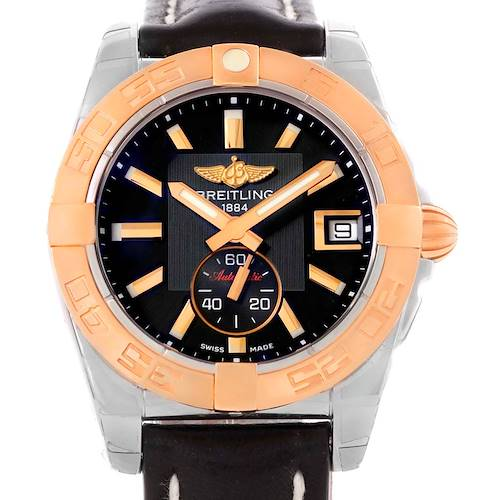 Photo of Breitling Galactic 36 Stainless Steel Rose Gold Watch C37330 Unworn