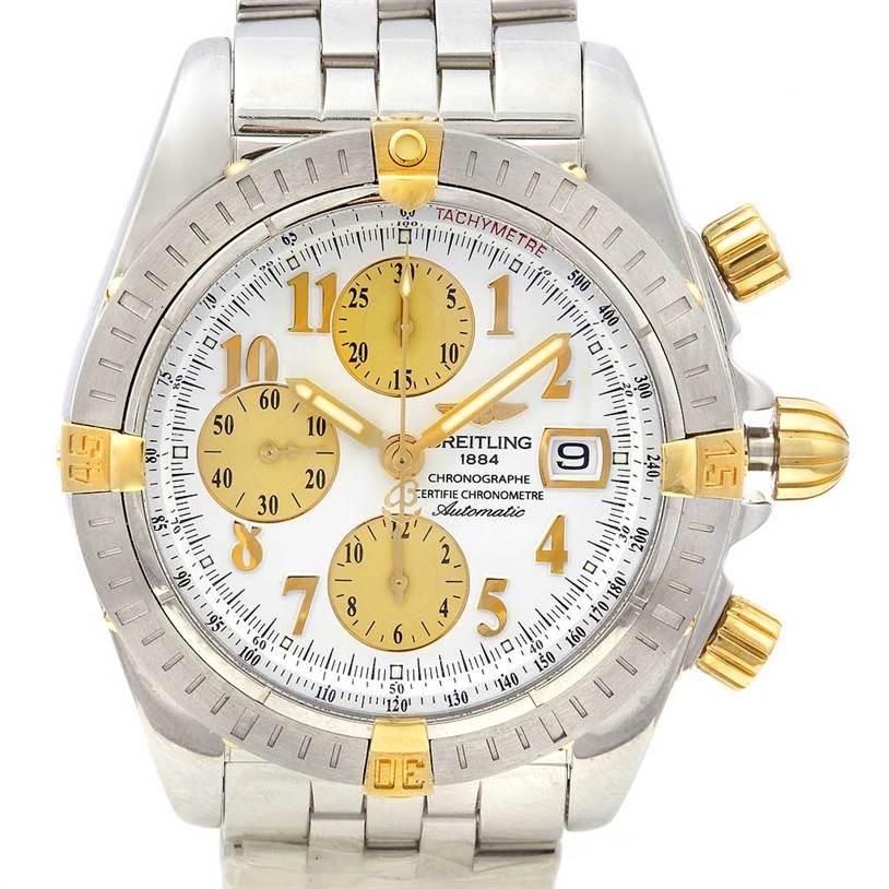 2178 Breitling Windrider Chronomat Evolution B1335611-a574 Watch SwissWatchExpo