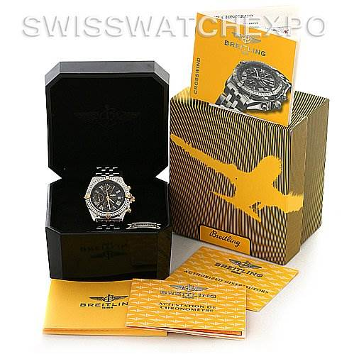 2883 Breitling Windrider Crosswind Preowned Watch # B13355 SwissWatchExpo