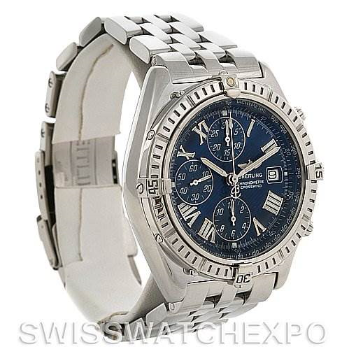 Breitling Windrider Crosswind Preowned Watch # A1335512 SwissWatchExpo