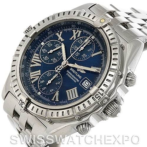 2940 Breitling Windrider Crosswind Preowned Watch # A1335512 SwissWatchExpo