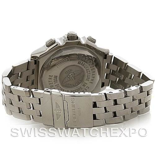 2955 Breitling Windrider Crosswind Steel Mens Watch A4435512 SwissWatchExpo