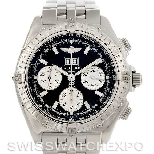 Photo of Breitling Windrider Crosswind Steel Mens Watch A4435512