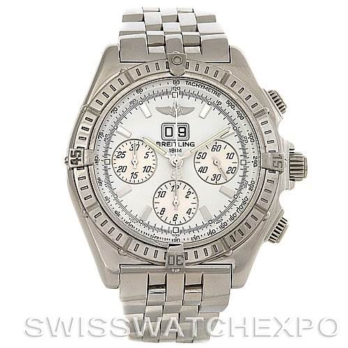 2990 Breitling Windrider Crosswind Special Steel Mens A44355 Watch SwissWatchExpo