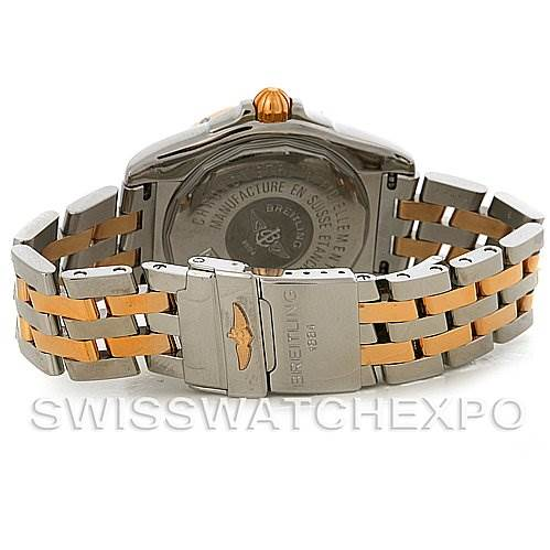 3023 Breitling Cockpit Big Date Steel 18K Rose Gold C49350 Watch SwissWatchExpo
