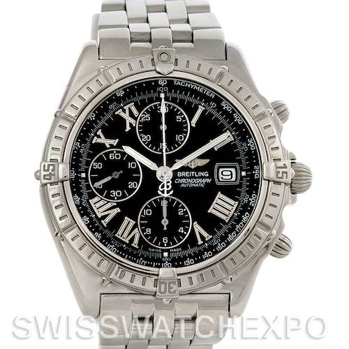 Photo of Breitling Windrider Crosswind Steel Mens Watch A13055