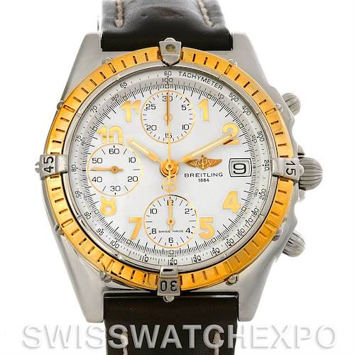 Photo of Breitling Windrider Chronomat Steel and 18K Yellow Gold Watch D13050