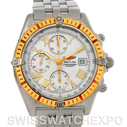 Photo of Breitling Windrider Chronomat Steel and 18K Yellow Gold Watch D13055