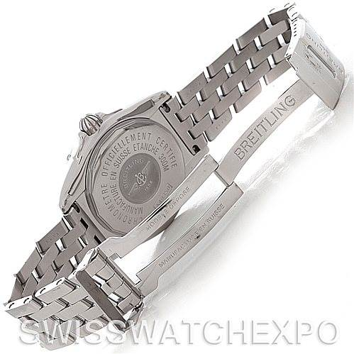 4599 Breitling Windrider Cockpit Men's Steel Watch A49350 SwissWatchExpo