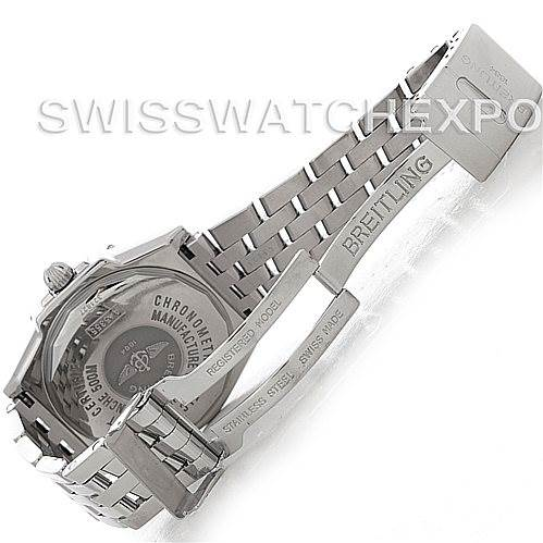 4598 Breitling Headwind Steel Men's Watch A45355 SwissWatchExpo