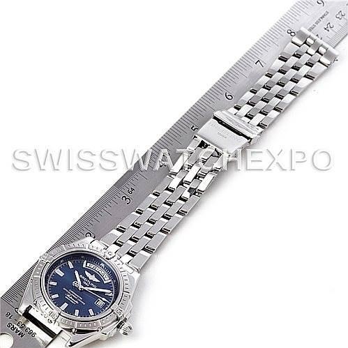 4598 Breitling Headwind Steel Men's Watch A45355 SwissWatchExpo
