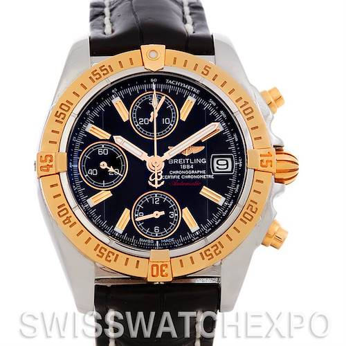 Photo of Breitling Cockpit Steel 18K Rose Gold Watch C13358