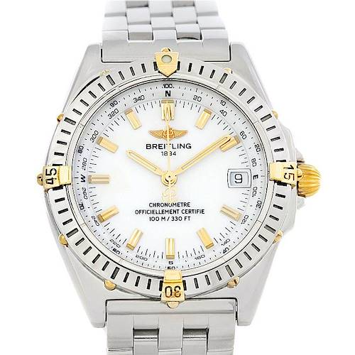 Photo of Breitling Windrider Wings Steel and 18K Yellow Gold Watch B10350