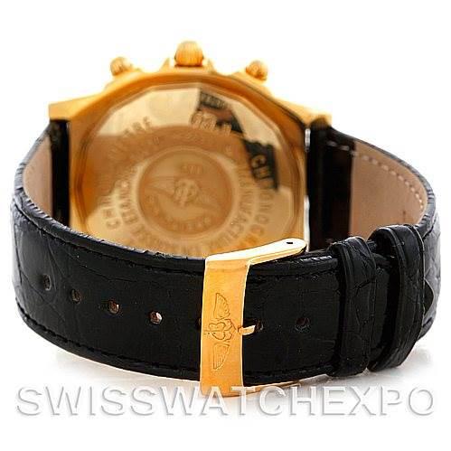 Breitling Windrider Chronomat 18K Yellow Gold Watch K13352 SwissWatchExpo