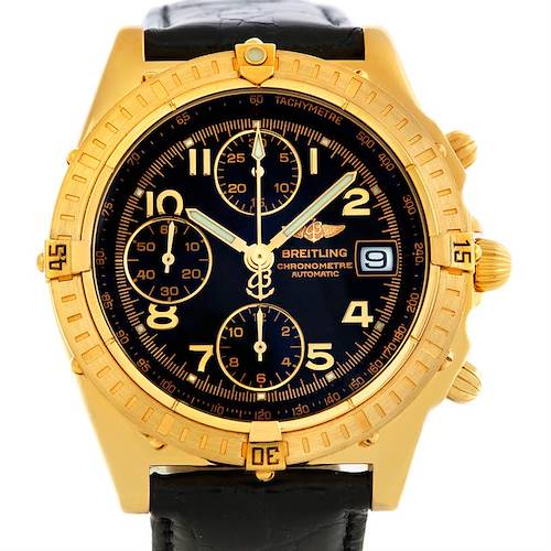 Photo of Breitling Windrider Chronomat 18K Yellow Gold Watch K13352