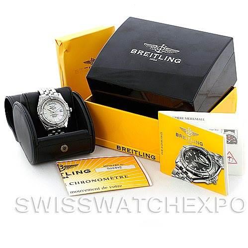 Breitling Headwind Steel Men's Watch A45355 SwissWatchExpo