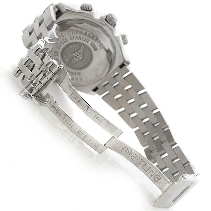 5838 Breitling Windrider Crosswind Special Steel Mens A44355 SwissWatchExpo