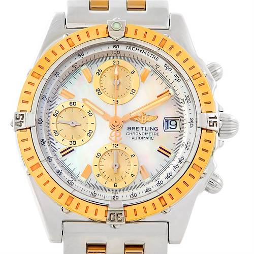 Photo of Breitling Windrider Chronomat Steel 18K Yellow Gold Watch D13352