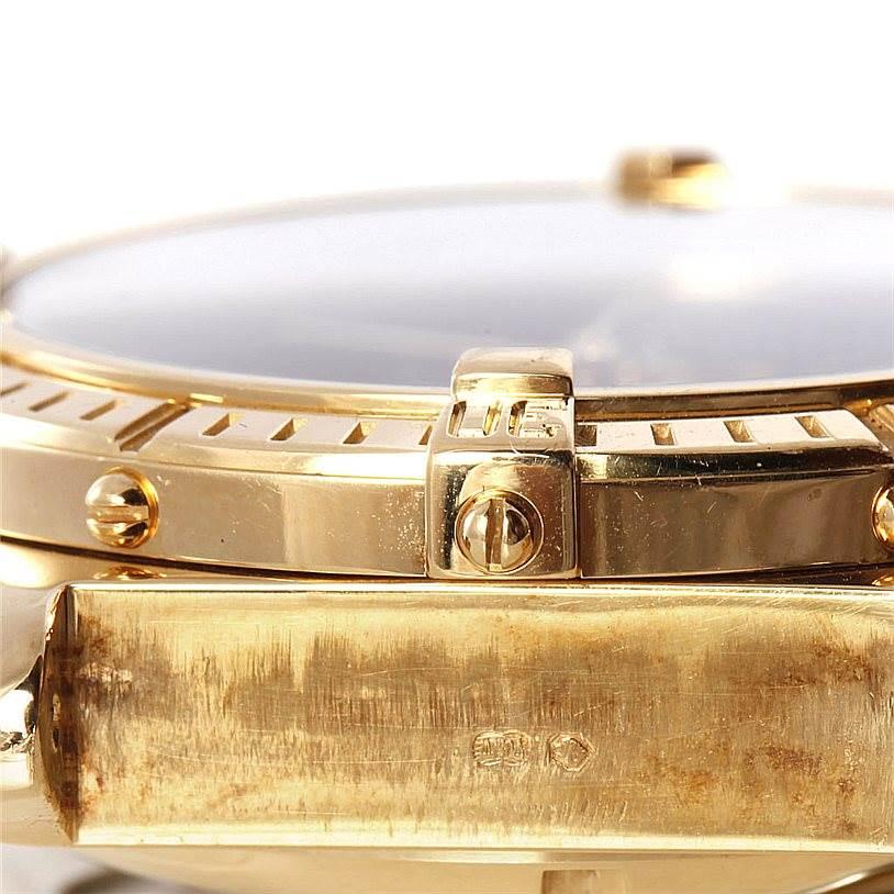 Breitling Windrider Crosswind 18K Yellow Gold Watch K13055 SwissWatchExpo