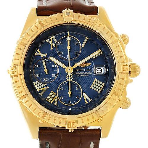 Photo of Breitling Windrider Crosswind 18K Yellow Gold Watch K13055