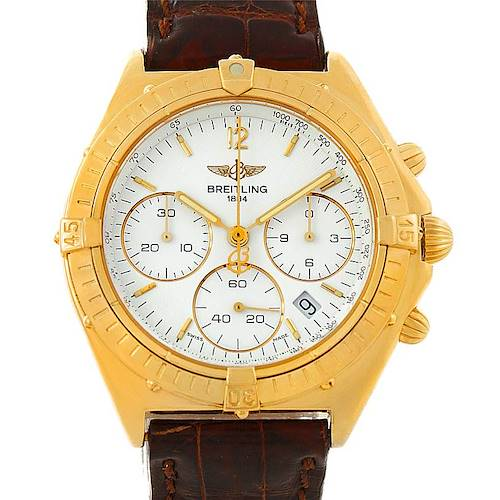 Photo of Breitling Windrider Sextant 18K Yellow Gold Watch K55046