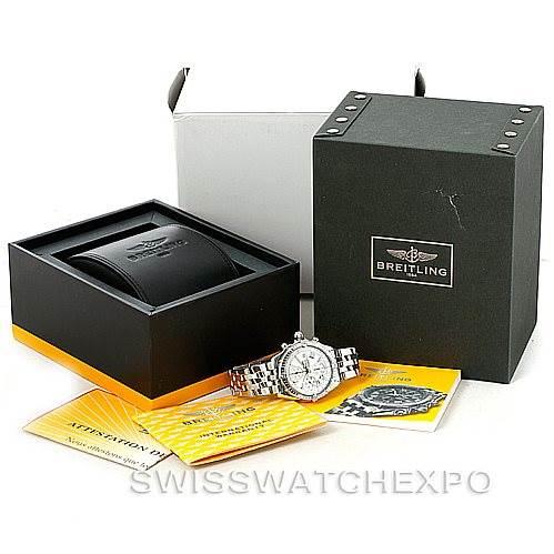 7619 Breitling Windrider Crosswind Steel Mens Watch A13355 SwissWatchExpo