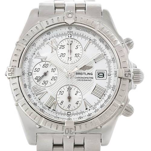 Photo of Breitling Windrider Crosswind Steel Mens Watch A13355