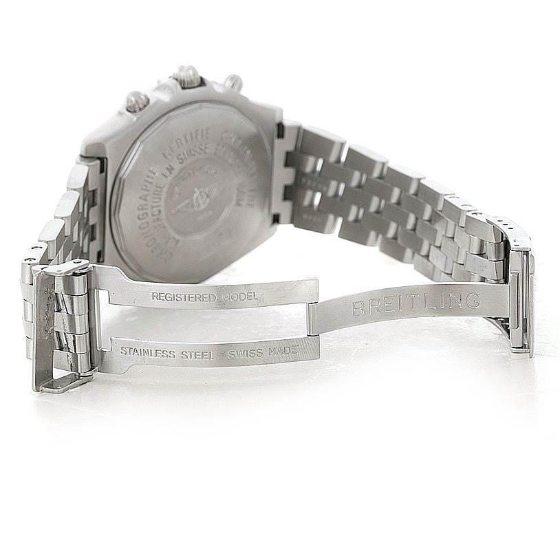 Breitling Windrider Crosswind Stainless Steel Mens Watch A13355 SwissWatchExpo