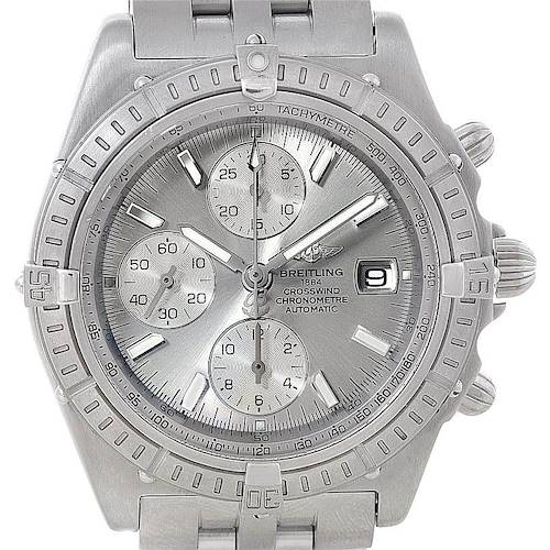 Photo of Breitling Windrider Crosswind Stainless Steel Mens Watch A13355