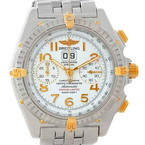 Photo of Breitling Windrider Crosswind Special Steel Yellow Gold Watch B13355