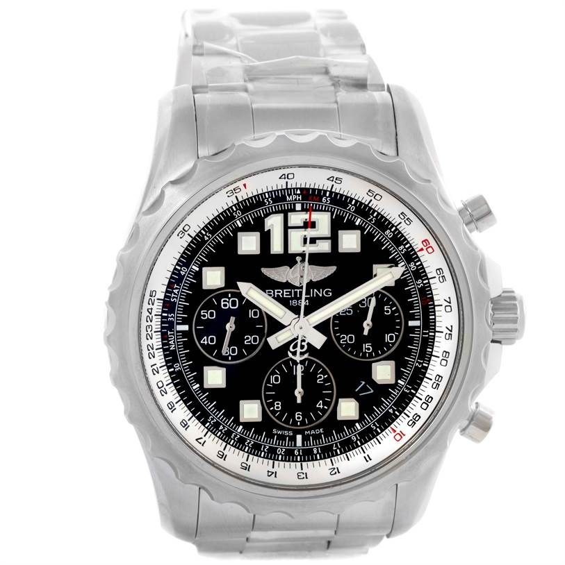 10590 Breitling Chronospace Automatic Chronograph Mens Watch A23360 Unworn SwissWatchExpo
