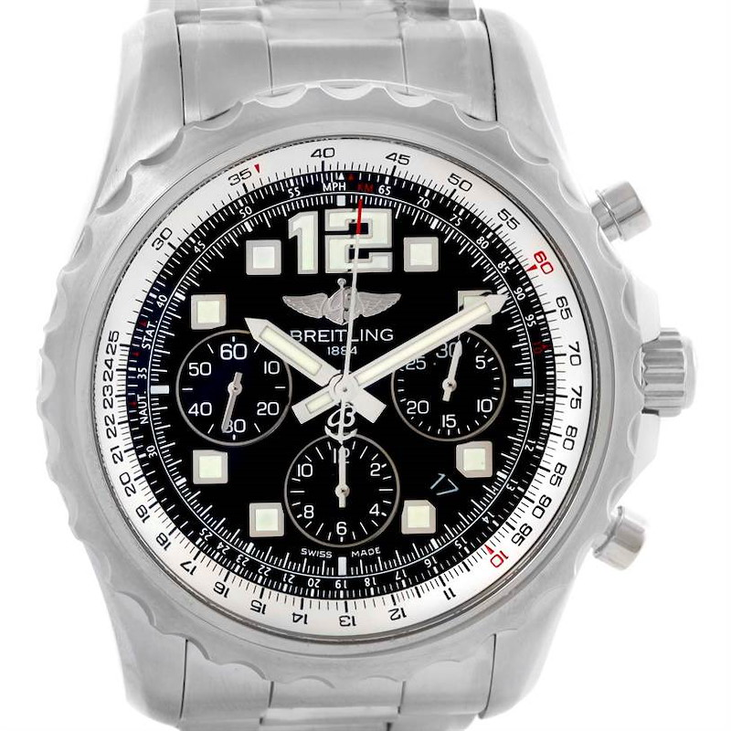 Breitling Chronospace Automatic Chronograph Mens Watch A23360 Unworn SwissWatchExpo