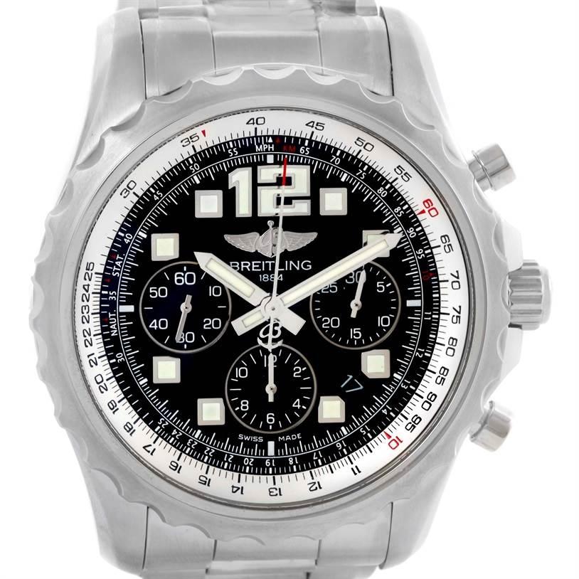 Breitling Chronospace Automatic Chronograph Mens Watch A23360 Unworn SwissWatchExpo