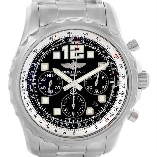 Photo of Breitling Chronospace Automatic Chronograph Mens Watch A23360 Unworn