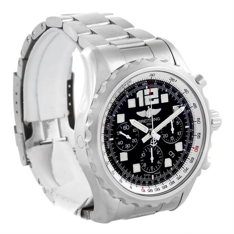 Breitling Chronospace Automatic Chronograph Steel Mens Watch A23360 SwissWatchExpo