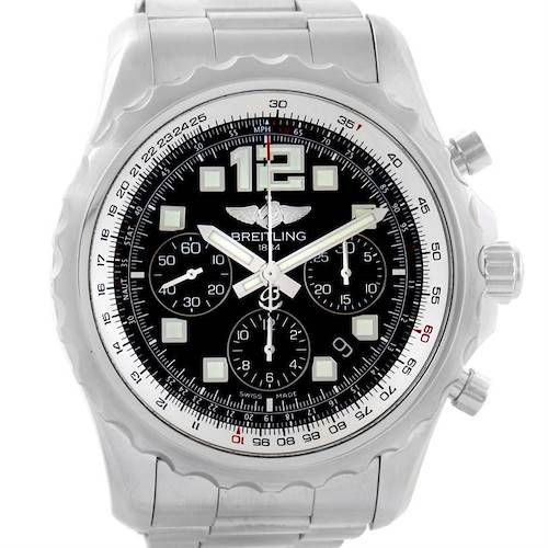 Photo of Breitling Chronospace Automatic Chronograph Steel Mens Watch A23360
