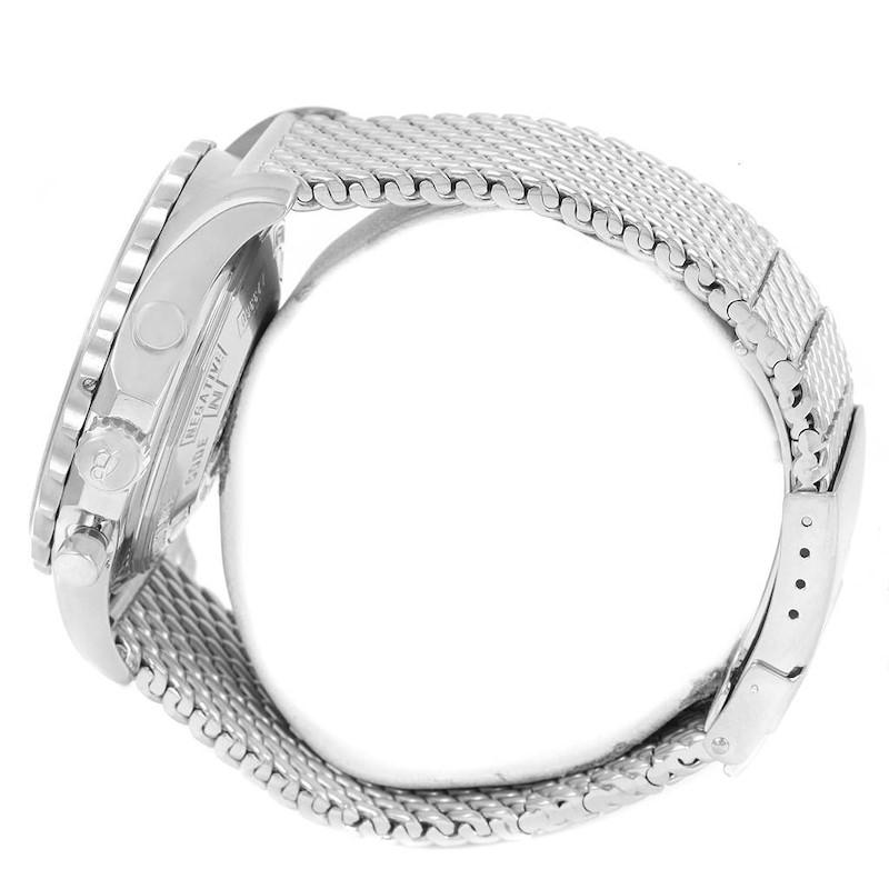 Breitling Chronospace Grey Dial Chronograph Steel Mens Watch A23360 SwissWatchExpo