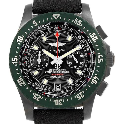 Photo of Breitling Skyracer Raven PVD Steel Limited Edition Watch M27363