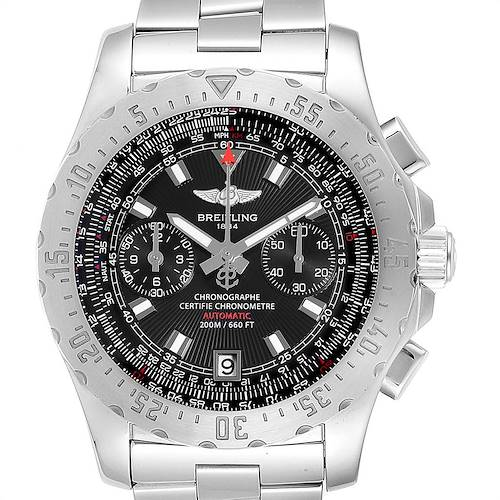 Photo of Breitling Professional Skyracer Black Dial Steel Mens Watch A27362