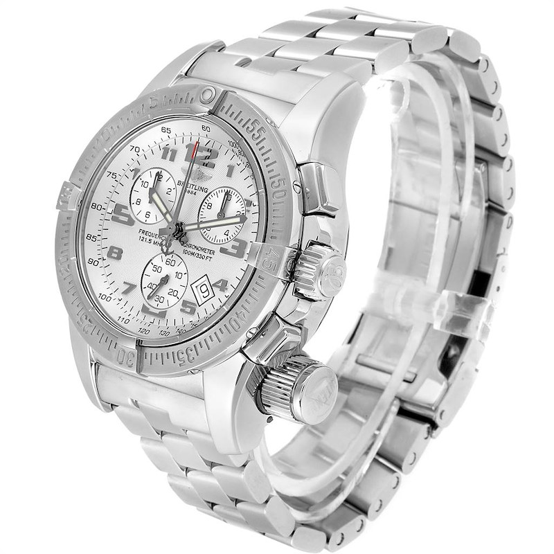 Breitling Professional Emergency Mission Chronograph Mens Watch A73322 SwissWatchExpo