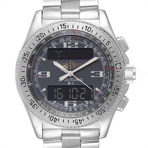 Photo of Breitling Professional B1 Quartz Steel Mens Watch A68062 Box Papers