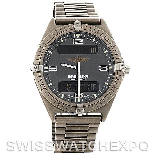 Breitling  Aerospace Titanium Quartz Watch SwissWatchExpo