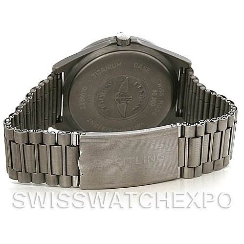 3032 Breitling Aerospace Titanium Analog and Digital Quartz 80360 SwissWatchExpo
