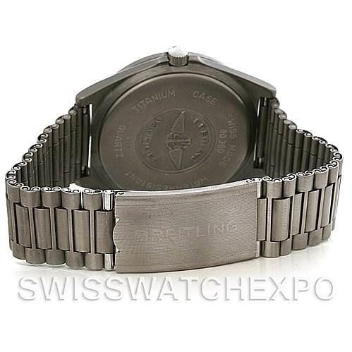 Breitling Aerospace Titanium Analog and Digital Quartz 80360 SwissWatchExpo